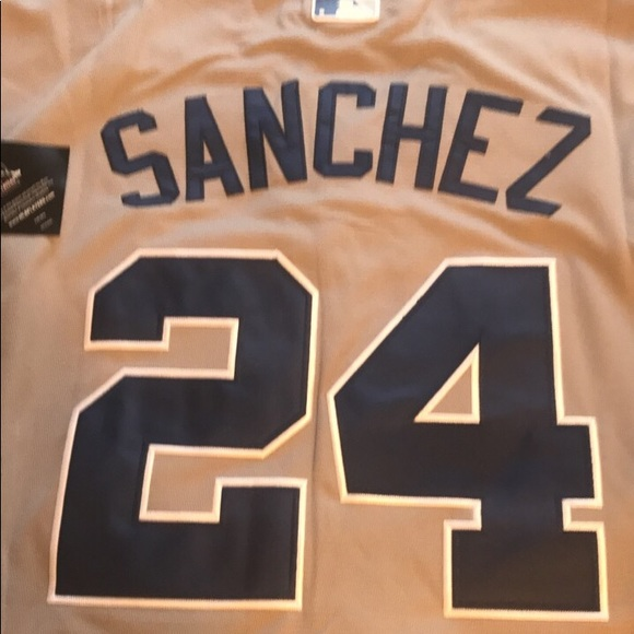 the best attitude 0453b f11ef Gary Sanchez New York Yankees Jersey NWT Majestic NWT